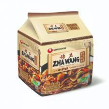 NongShim Zha Wang 4.72oz(134g) 4 Packs, 농심 짜왕 4.72oz(134g) 4팩