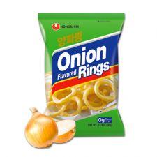 Nongshim Onion Flavored Rings 1.76oz(50g), 농심 양파링 1.76oz(50g)