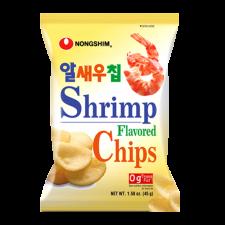 Nongshim Shrimp Meat Chip 1.58oz(45g), 농심 알새우칩 1.58oz(45g)