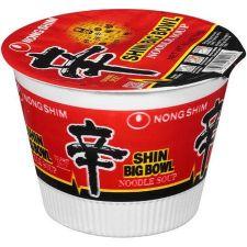 Nongshim Shin Ramyun Noodle Soup Big Bowl 4.02oz(114g), 농심 신라면 큰사발 4.02oz(114g)