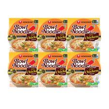 Nongshim Spicy Chicken Bowl Noodle Soup 3.03oz(86g) 12 Cups, 농심 닭개장 사발면 3.03oz(86g) 12컵