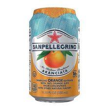 San Pellegrino Sparkling Beverage Aranciata Orange 11.15 fl.oz(330ml) , 산펠레그리노 탄산수 아란시아타 오렌지맛 11.15 fl.oz(330ml)
