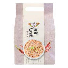 Fu Chung Village Dried Noodles Spicy Sichuan Pepper and Vinegar 16.23oz(460g),Fu Chung Village 드라이 누들 매운 사천 고추와 식초 소스 16.23oz(460g)