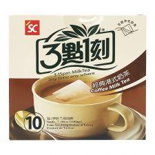 S&C 3:15PM Coffee Milk Tea 7.06oz(200g) 10 Bags, S&C 3:15PM 커피 밀크티  7.06oz(200g) 10 티백