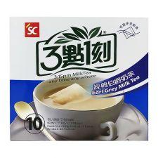 S&C 3:15PM Earl Grey Milk Tea 7.06oz(200g) 10 Bags, S&C 3:15PM 얼그레이 밀크티 7.06oz(200g) 10 티백, S&C 3點一刻 經典伯爵奶茶 7.06oz(200g) 10 Bags
