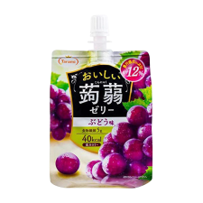 Tarami Konjac Jelly Grape 5.29oz(150g), 타라미 곤약젤리 포도맛 5.29oz(150g)