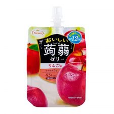 Tarami Konjac Jelly Apple 5.29oz(150g), 타라미 곤약젤리 사과맛 5.29oz(150g)