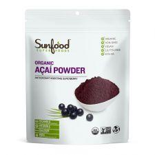 Sunfood Organic Acai Powder 8oz(227g), Sunfood 유기농 아사이 파우더 8oz(227g)