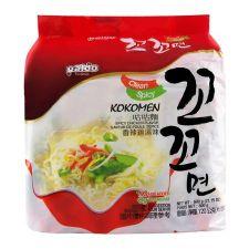 Paldo Kokomen Spicy Chicken Flavor 4.2oz(120g) 5 Packs, 팔도 꼬꼬면 4.2oz(120g) 5팩