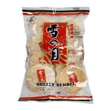 Want Want Shelly Senbei Rice Crackers 4.3oz(122g), Want Want 센베이 쌀과자 4.3oz(122g)
