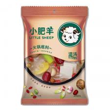 Little Sheep Hot Pot Soup Base Original 4.59oz(130g), Little Sheep 핫 팟 육수 담백한맛 4.59oz(130g)