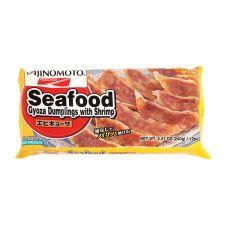Ajinomoto Seafood Gyoza Dumplings with Shrimp 8.47oz(240g), 아지노모토 쉬림프 교자 8.47oz(240g)