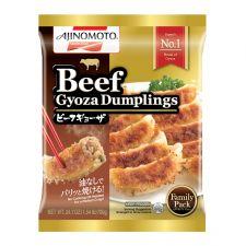 Ajinomoto Beef Gyoza Dumplings Family Pack 1.54lb(700g), 아지노모토 비프 교자 패밀리팩 1.54lb(700g)