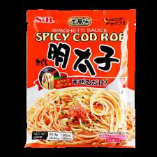 S&B Spaghetti Sauce Spicy Cod Roe 1.85oz(52.4g), 에스엔비 스파게티 소스 매운 명란맛 1.85oz(52.4g)