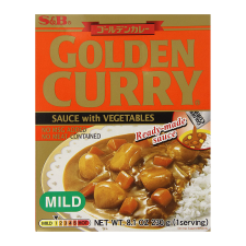 S&B Golden Curry  Ready-Made Sauce with Vegetables Mild 8.1oz(230g), S&B 즉석 골든카레 순한맛 8.1oz(230g)