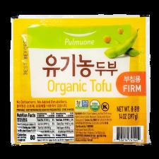 Pulmuone Organic Tofu (Firm) 14oz(397g), 풀무원 유기농 두부 (부침용) 14oz(397g)