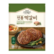 Korean BBQ Flavored Beef Patty 16oz(453g)
