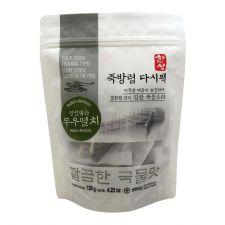 Hansang Radish&Anchovy Soup Stock (Tea Bag Type) 4.23oz(120g), 한상 죽방렴 다시팩 무우멸치 4.23oz(120g)
