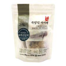 Hansang Green Onion Root&Anchovy Soup Stock (Tea Bag Type) 4.23oz(120g), 한상 죽방렴 다시팩 파뿌리멸치 4.23oz(120g)