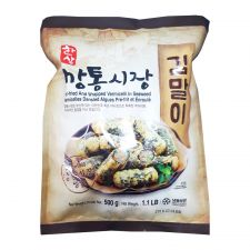 Hansang Deep Fried Seaweed Vermicelli Roll 1.1lb(500g), 한상깡통시장 김말이 1.1lb(500g)
