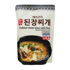 Hansang Soybean Paste Stew with Pork 1.1lb(500g), 한상 돼지고기 된장찌개 1.1lb(500g)