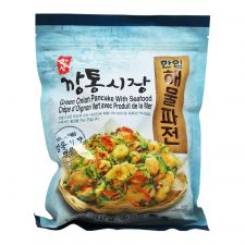 Hansang Green Onion Pancake With Seafood 15.87oz(450g), 한상 깡통시장 한입 해물파전 15.87oz(450g)