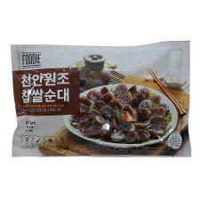 Cheonan Soondae 1lb(454g), 천안원조 찹쌀순대 1lb(454g)