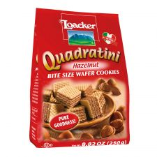 Loacker Quadratini Hazelnut 8.82oz(250g), Loacker Quadratini 헤이즐넛 8.82oz(250g)