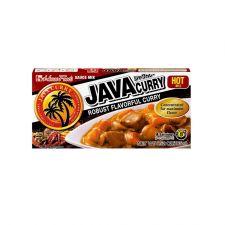 Java Curry Sauce Mix Hot 6.52oz(185g)