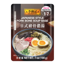 Lee Kum Kee Japanese Style Pork Bone Soup 7oz(198g), 이금기 일본식 돈가츠 육수 7oz(198g), 李錦記 豬骨濃湯 7oz(198g)