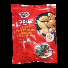 CJ Bibigo Crispy Potstickers Meat & Vegetable 32oz(907g), 씨제이 비비고 백설 군만두 32oz(907g)