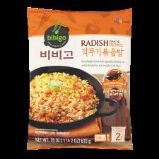 CJ Bibigo Radish Kimchi Fried Rice 18oz(510g), 씨제이 비비고 깍두기 볶음밥 18oz(510g)