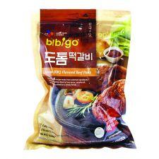 CJ Bibigo Korean BBQ Flavored Beef Patty 16oz(453g), 씨제이 비비고 도톰 떡갈비 16oz(453g), CJ 韓式燒烤牛肉餅 16oz(453g)
