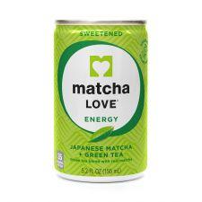 Matcha Love Sweetened Matcha Drink 5.2 fl.oz(155ml), Matcha Love 스윗 말차 캔 5.2 fl.oz(155ml), Matcha Love 抹茶飲 微糖 5.2 fl.oz(155ml)