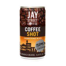Jay Street Coffee Coffee Shot Unsweetened Black 6.4 fl.oz(190ml), Jay Street Coffee 커피 샷 블랙 6.4 fl.oz(190ml), Jay Street Coffee 無糖濃縮黑咖啡 6.4 fl.oz(190ml)
