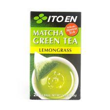 Matcha Green Tea Lemongrass Tea Bags 0.05oz(1.5g) 20 Tea Bags