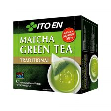 ITO EN Matcha Green Tea Traditional Tea Bags 0.05oz(1.5g) 50 Tea Bags, 이토엔 전통 말차(녹차) 티백 0.05oz(1.5g) 50 티백, 伊藤園 傳統綠茶茶包 0.05oz(1.5g) 50 茶包