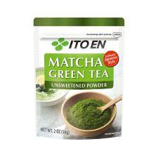 ITO EN Matcha Green Tea Powder Unsweetened 2oz(56g), 이토엔 무가당 말차 파우더 2oz(56g), 伊藤園 抹茶綠茶粉 無糖 2oz(56g)
