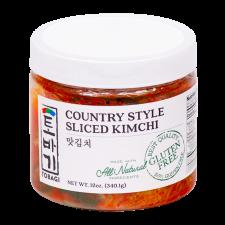 Tobagi Sliced Cabbage Kimchi 12oz(340g), 토바기 맛김치 12oz(340g), Tobagi 泡菜 12oz(340g)