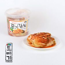 Tobagi Whole Cabbage Kimchi 3lb(1.36kg), 토바기 포기김치 3lb(1.36kg)