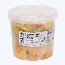 Tobagi White Cabbage Kimchi 3lb(1.36kg), 토바기 백포기김치 3lb(1.36kg)