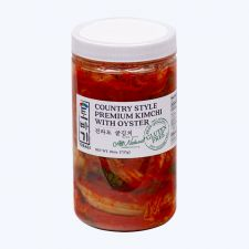 Tobagi Premium Oyster Kimchi 26oz(737g), 토바기 전라도 굴김치 26oz(737g)
