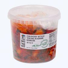 Tobagi Young Radish Kimchi 3 lbs (1.36kg), 토바기 총각김치 3 lbs (1.36kg)