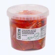 Tobagi Radish Oyster Kimchi 3lb(1.36kg), 토바기 굴석박지 3lb(1.36kg)