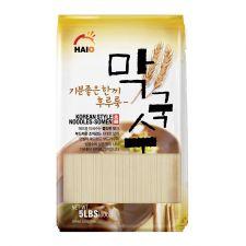 HAIO  Korean Style Noodles Somen 5lb(2.3kg), HAIO 막국수 5lb(2.3kg)