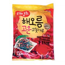 HAIO Red Pepper Powder Fine 2.2lb(1kg), HAIO 태양초 고운 고춧가루 2.2lb(1kg)