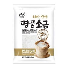 Haioreum 100% Natural Sea Salt (Premium Coarse Salt) 5lb(2.27kg), 해오름 100% 신안 명품소금 (굵은 소금) 5lb(2.27kg)