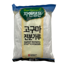 Raw Nature Sweet Potato Starch 3lb(48oz), 자연담은 고구마 전분 가루 3lb(48oz)