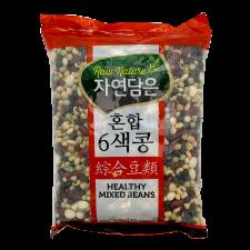 Raw nature Healthy Mixed Beans 2lb(907g), 자연담은 혼합 6색콩 2lb(907g)
