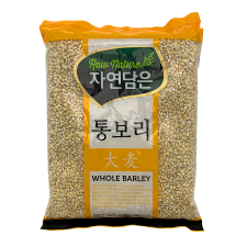 Raw Nature Whole Barely 2lb(907g), 자연담은 통보리 2lb(907g)